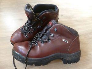 【送料無料】キャンプ用品 hiking メンズデーモンブラウンレザーウォーキングハイキングブーツmens demon brown walking leather leather walking hiking boots uk9, 嘉穂郡:544fb2ff --- jpworks.be