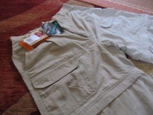 【送料無料】キャンプ用品 レディースズボンロイヤルロビンスサイズladies convertible walking trousers royal robbins size 1214 nwt