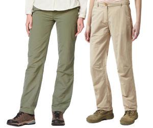 【送料無料】キャンプ用品 レディースレディーストラベルズボンcraghoppers womensladies nosilife lightweight travel trousers