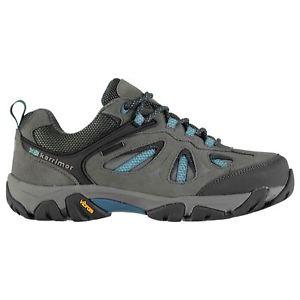 【送料無料】キャンプ用品 アスペンウォーキングシューズレディースシューレースkarrimor aspen low water repellent walking shoes ladies laces fastened