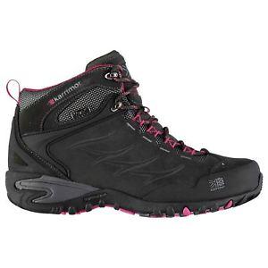 【送料無料】キャンプ用品 カールミッドウォーキングブーツレースアップパッドkarrimor womens corrie mid walking boots lace up breathable waterproof padded