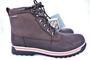 【送料無料】キャンプ用品 クラークスブラウンレザーウォーキングハイキングブーツワイドフィットサイズclarks goretex brown leather walking hiking boots wide fit h size uk7
