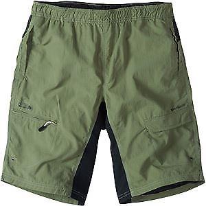 【送料無料】キャンプ用品 マディソンフリーホイールメンズショートパンツオリーブグリーンオリーブmadison freewheel mens shorts, olive green large olive grn
