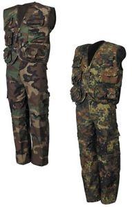 【送料無料】キャンプ用品 スーツジャケットズボンベストウッドランド