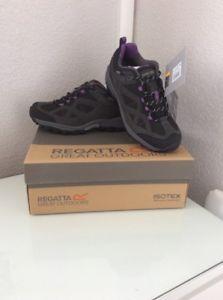 【送料無料】キャンプ用品 レガッタレディアンダーソンウォーキングユーロアルパインregatta lady anderson low walking uk 6eur 39 alpine purple bninb isotex