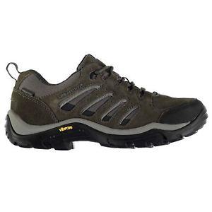 【送料無料】キャンプ用品 アスペンスエードアッパーハイキングウォーキングシューズレースアップメンズkarrimor aspen low waterproof suede upper hiking walking shoes lace up mens
