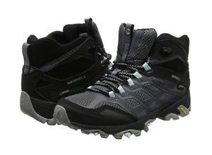【送料無料】キャンプ用品 モアブハイキングブーツサイズmerrell womens moab fst mid gretx high rise hiking boots size uk 5