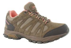 【送料無料】キャンプ用品 レディースウォーキングハイキングシューズピンクhitec alto womens waterproof lightweight walking hiking shoe sand pink