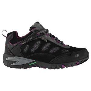 【送料無料】キャンプ用品 リッジウォーキングシューズレディースkarrimor ridge wtx walking shoes ladies water repellent laces fastened