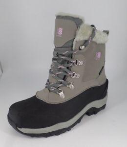 【送料無料】キャンプ用品 グレーベルベットサイズkarrimor womens snow fur l weathertite grey velvet size uk 7 eu 41 nh07 04