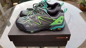 【送料無料】キャンプ用品 スポーツハイキングシューズmerrell womens capra sport hiking shoe