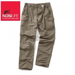【送料無料】キャンプ用品 メンズカーゴウォーキングハイキングズボンcraghoppers mens nosilife cargo walking hiking trousers pebble regular
