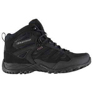 【送料無料】キャンプ用品 メンズヘリウムウォーキングブーツレースアップパッドkarrimor mens helium wtx walking boots lace up breathable waterproof padded