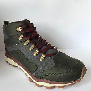 【送料無料】キャンプ用品 アウトクラッシャーミッドロジンウォーキングハイキングブーツmerrell all out crusher mid rosin walking hiking leather ankle boots sz 105 60