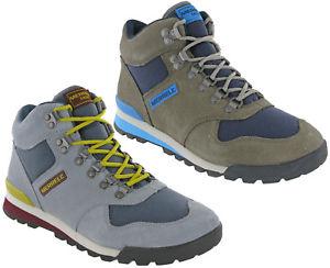 【送料無料】キャンプ用品 イーグルハイキングウォーキングメンズレザースエードレースアップブーツmerrell eagle hiking walking mountaineering mens leather suede lace up boots