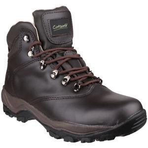 【送料無料】キャンプ用品 コッツウォルドレディースレディースワックスレザーウォーキングブーツcotswold womensladies winstone waterproof waxed leather walking boots