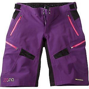 【送料無料】キャンプ用品 マディソンミニドリンクゼナパンインペリアルパープルサイズmadison zena womens shorts, imperial purple size 10 purple