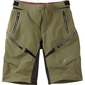 【送料無料】キャンプ用品 マディソンゼニスメンズショートパンツダークオリーブmadison zenith mens shorts, dark olive xxlarge green