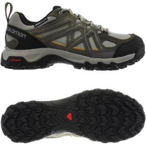 【送料無料】キャンプ用品 ソロモンカーキメンズトレッキングシューズハイキングsalomon evasion 2 cs wp khaki mens hiking trekking shoes waterproof
