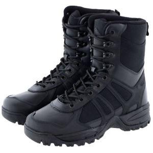 【送料無料】キャンプ用品 ブーツパトロールブラック