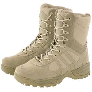 【送料無料】キャンプ用品 メンズパトロールブーツカーキmiltec mens military security patrol combat tactical boots generation ii khaki