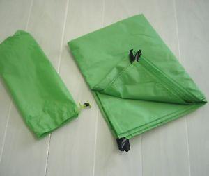 【送料無料】キャンプ用品 テントチタンペグ2 person tent groundsheet 210cm x 140cm 246g 4 x 2g ultralight titanium pegs