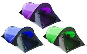 【送料無料】キャンプ用品 テント5710552ポップ 3mrp3995571055 summit 2 person pop up tent three colours mrp 3995