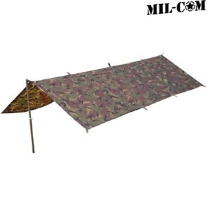 【送料無料】キャンプ用品 milcom basha shelter dpm camo emergency sleeping cover waterproofnylon sheetmilcom basha shelter dpm camo emergency sleepi