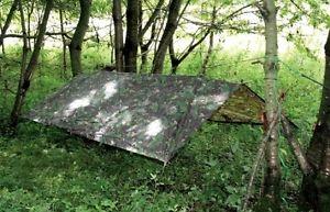 【送料無料】キャンプ用品 イギリスカムフラージュキャンプテントbritish army dpm basha camo bivi military sas camouflage shelter camping tent