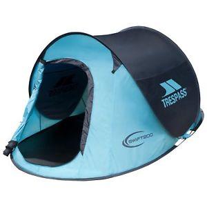 【送料無料】キャンプ用品 ターコイズトレスパスポップアップキャンピングフェスティバルテントtrespass swift 200 2 man turquoise waterproof pop up tent for camping festival