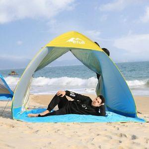 【送料無料】キャンプ用品 テントビーチテントポータブルサンシェルター14 persons huge tent xxl automatic beach tent portable sun shelters anti uv uk