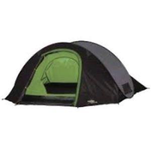 【送料無料】キャンプ用品 vangods3003フェスティバルテントvango dart ds300 pop up tent in green 3 man festival