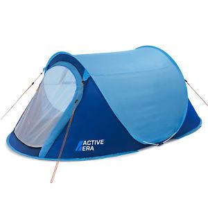 【送料無料】キャンプ用品 アクティブポップアップテントactive era large 2 person pop up tent water resistant, ventilated and durable
