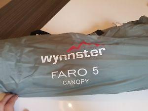 【送料無料】キャンプ用品 wynnster5wynnster faro 5 canopy