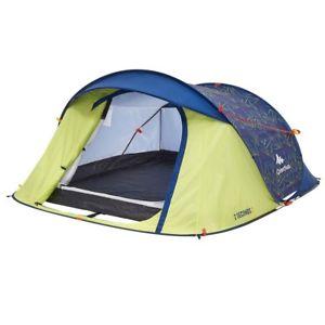高級品市場 【送料無料】キャンプ用品 ケチュア23フェスティバルテント55quechua 55 2 seconds 3 person festival 2 person tents colour yellowblue 55, 大人の上質 :bd6b90da --- enduro.pl
