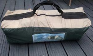 【送料無料】キャンプ用品 proaction 6テントグリーンproaction 6 man tent green used once