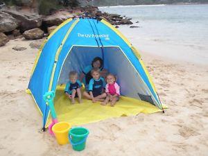 最新発見 【送料無料】キャンプ用品 オーストラリアプロテクターポップアップビーチシェルター×メートルshelta upf50 australia uv protector upf50 pop pop beach up beach shelter large 195 x 195 m, とやまけん:3e35a563 --- enduro.pl