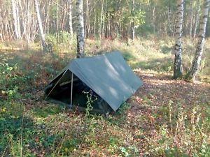 【送料無料】キャンプ用品 nato army issue nylon 2マンheavy dutytent groundsheet poles pegs  nato army issue nylon 2 man heavy duty tent groundsheet