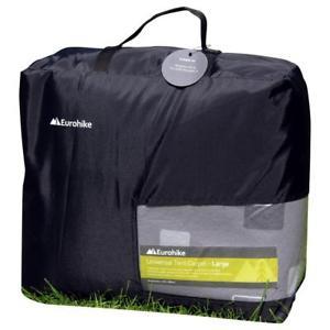 【送料無料】キャンプ用品 eurohikeテントカーペット キャンプeurohike tent carpet large camping equipment accessories grey