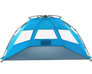 【送料無料】キャンプ用品 tagvoテントサンセットアップポータブルbeactagvo pop up beach tent sun shelter easy set up tear down, portable instant beac