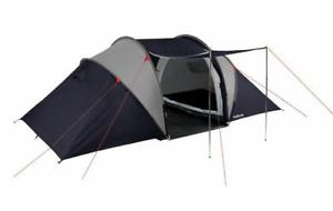 【送料無料】キャンプ用品 ハルフォード4テントトンネルダブルhalfords 4 man person vis a vis tent tunnel double skin living space