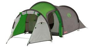 【超歓迎】 【送料無料 greengrey】キャンプ用品 トンネルテントグリーングレー listingcoleman cortes 2 person tunnel 2 listingcoleman tent greengrey, SPOTCHECK.SHOP:5f4ecb59 --- enduro.pl