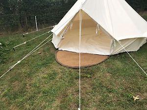 【送料無料】キャンプ用品 テントココナツマットマットbell tent coir matting entrance mat