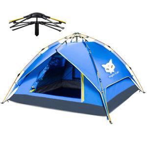 【送料無料】キャンプ用品 インスタントポップバックパックカーキャンプテントテント
