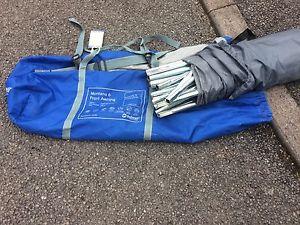 【送料無料】キャンプ用品 モンタナ6 awning pole set onlyoutwell montana 6 awning pole set only complete used, rare to find