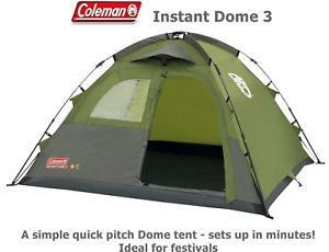 【送料無料】キャンプ用品 コールマンドーム32018モデルセットアップテントフェスティバルcoleman instant for dome instant 3 tent 2018 model up set up in minutes ideal for festivals, Friends:faa335b8 --- officewill.xsrv.jp