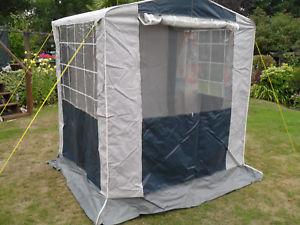 【送料無料】キャンプ用品 コックテントcookstorage tent bluegrey