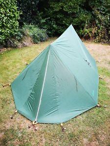 【送料無料】キャンプ用品 vango10 mk3 cnナイロン2テントロケットvango force 10 mk3 cn cotton nylon classic 2 man expedition ridge tent retro