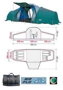 【送料無料】キャンプ用品 コールマンtrispace 8テントcoleman trispace 8 man tent