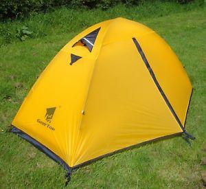 【送料無料】キャンプ用品 1テントバックパッキングテントキャンプ3シーズンyellow 185kg